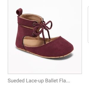 18-24m Maroon girls shoes